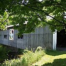 South Denmark Road Covered Bridge by Monnie Ryan