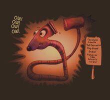 Self-Destructive Dog-Nosed Snake by Tom Godfrey