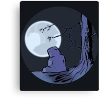 Light of the Moon #2 Canvas Print