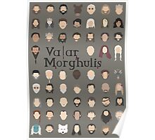Game of Thrones - Valar Morghulis Poster