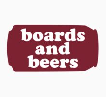 Boards and Beers - Redweiser Can by LanceDonnahue