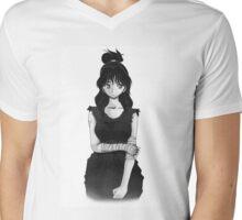 Manga Fighter Mens V-Neck T-Shirt