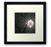 Shoot The Moon Framed Print