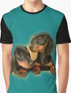 Dachshund Dogs Graphic T-Shirt