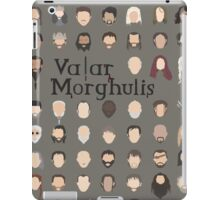 Game of Thrones - Valar Morghulis iPad Case/Skin