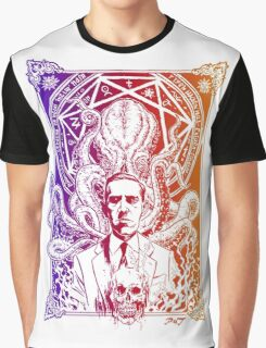 Cthulhu Howard Phillips Lovecraft HP historical society  Graphic T-Shirt