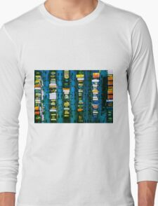Vintage electronic board Long Sleeve T-Shirt
