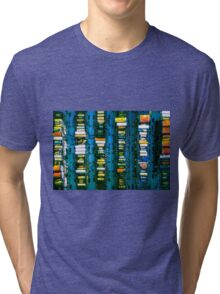 Vintage electronic board Tri-blend T-Shirt
