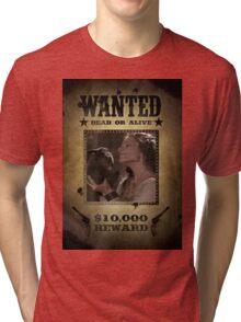 Buffy Anya Emma Caulfield 5 Wanted Tri-blend T-Shirt