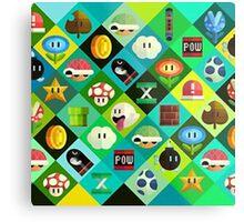 Super Mario -  Videogame Metal Print