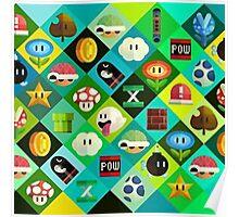 Super Mario -  Videogame Poster