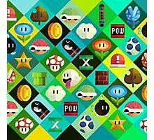 Super Mario -  Videogame Photographic Print