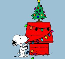 Snoopy Christmas Tree Unisex T-Shirt