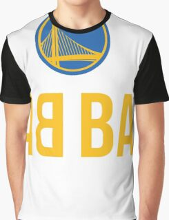Golden State Warriors Champions BACK TO BACK BABY Graphic T-Shirt