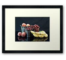 Healthy Eating Habits Framed Print