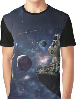 Stuck in Space Graphic T-Shirt