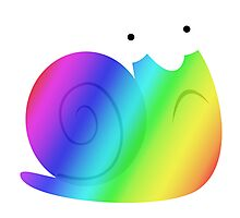 MLP - Cutie Mark Rainbow Special – Snails V3 Photographic Print