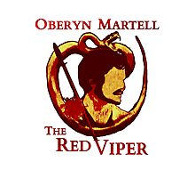 Oberyn Martell - The Red Viper Photographic Print