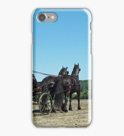 That Carriage Ride on Sunday Morning... iPhone Case/Skin