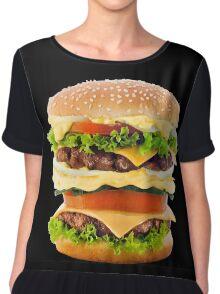 Hamburger Chiffon Top