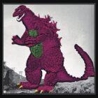 Barney Godzilla by Shod-Tee