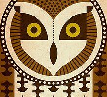 Short Eared Owl by Scott Partridge