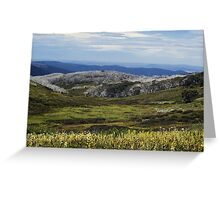 bogong high plains Greeting Card