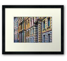 Castello square in Milan, Italy Framed Print