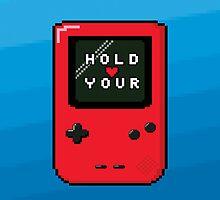 I Wanna Hold Your Handheld by Gingerjuju