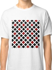 Beautiful Cushions/ Pattern Red and Black check Classic T-Shirt