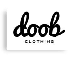 Doob Clothing Canvas Print