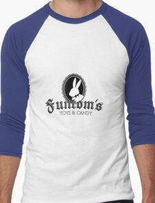 Funtom's Toys and Candy Men's Baseball ¾ T-Shirt