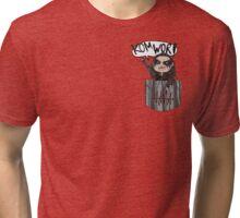 Pocket Heda Tri-blend T-Shirt