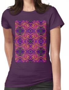 Psychedelic Visions  Womens Fitted T-Shirt