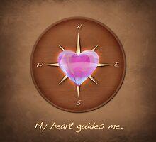 My Heart Guides Me by ArtsyFunZenLove