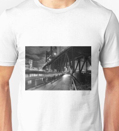 Portland Oregon at night Unisex T-Shirt