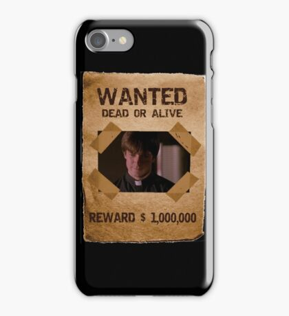 Buffy Caleb Nathan Fillion Wanted 1 iPhone Case/Skin