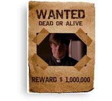 Buffy Caleb Nathan Fillion Wanted 1 Canvas Print