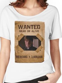 Buffy Caleb Nathan Fillion Wanted 1 Women's Relaxed Fit T-Shirt