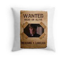Buffy Caleb Nathan Fillion Wanted 1 Throw Pillow