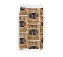 Buffy Caleb Nathan Fillion Wanted 1 Duvet Cover