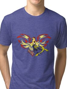 Woman with Phoenix Tri-blend T-Shirt