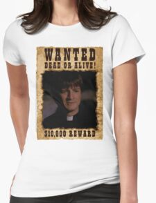 Buffy Caleb Nathan Fillion Wanted 2 Womens Fitted T-Shirt