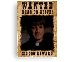 Buffy Caleb Nathan Fillion Wanted 2 Canvas Print