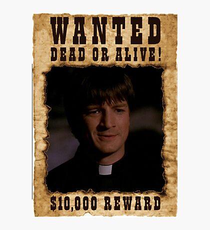 Buffy Caleb Nathan Fillion Wanted 2 Photographic Print
