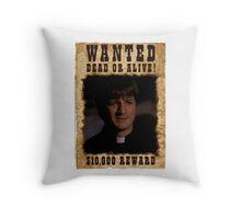Buffy Caleb Nathan Fillion Wanted 2 Throw Pillow