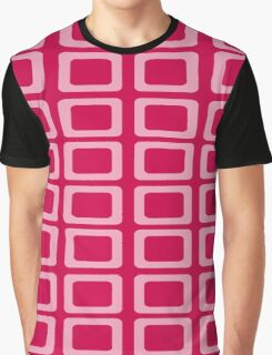 Beautiful Cushions/Extreme Rectangles Pinks Graphic T-Shirt