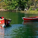 Lagoon Mooring by phil decocco