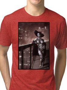 Noir Punk Painting 001 Tri-blend T-Shirt
