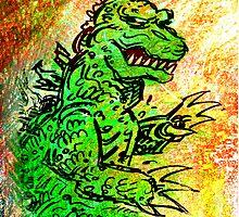 Godzilla by Lincke